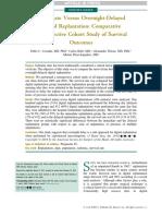 The Journal of Hand Surgery Volume Issue 2018 [Doi 10.1016%2Fj.jhsa.2018.03.047] Cavadas, Pedro C.; Rubí, Carlos; Thione, Alessandro; Pérez-Esp -- Immediate Versus Overnight-Delayed Digital Replantati