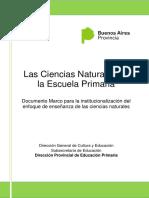 Las Ciencias Naturales en La Escuela Primaria
