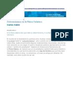 Sabín, Carlos - Determinismo en La Física Cuántica