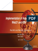 Freeport McMoRan - Implementation of Aspentech Web21 and RBV
