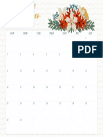 December Wall Calendar