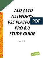 Pse Platform p Studyguide