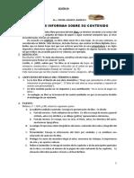 Planificación Del Informe