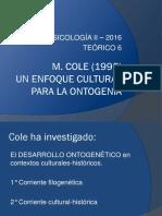 2016.Teórico 6.Cole Cap 7