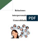 Relaciones Interpersonales (Con Formato APA)