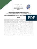 Análisis Gravimétrico por Precipitacion con Dimetilglioxima - Luis F Peña y María Molina