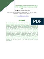 Cultivo Del Hongo Comestible Pleurotus Pulmonarius Sobre Hojarasca de Almendro