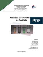 Métodos Gravimétricos 1er Corte I-2013