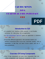 java Introduction to GUI