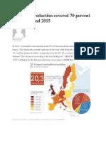 EU Pellet Production Covered 70 Percent of EU Demand 2015