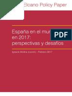 Policy Paper Espana en Mundo 2017 Perspectivas Desafios