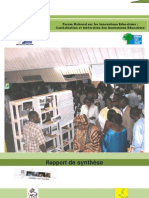 Rapport de synthèse du Forum National sur les Innovations Educatives