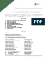 ACTA DE LA ASAMBLEA GENERAL ORDINARIA DE LA FEDERACION ESPAÑOLA DE AJEDREZ 2014