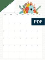 June Wall Calendar