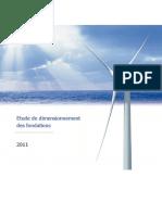 Etude Dimensionnement Fondations Fecamp