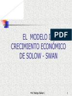 El Modelo de Crecimiento Económico de Solow -Swan