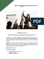 PFGP - Gestão de Pessoas