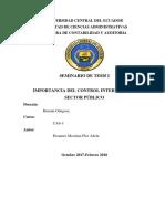 Articulo Indexado-Importancia Del Control Interno en El Sector Publico