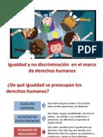 2. Igualdad en El Marco de DDHH