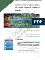 Le Théorème de Boucherot - Site Sur Les Nombres Complexe Et Les Fractales