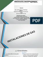 Exposicion Instalacion de Gas