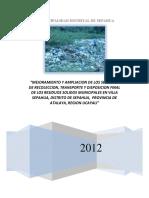 Pip Rrss Viable SEPAHUA - ATALAYA -UCAYALI 2012