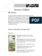 Ficha_tecnicabillete de 500 Pesos