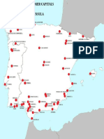 Capitals and Former Capitals in the Iberian Peninsula