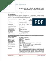 Ficha Tecnica EPOXY MASTIC 35670 (Negro)