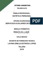 Correg 2 Maquillaje 2018-1 Lavinia Emilia Estrada