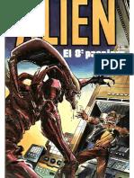 Alien 1979 pelicula ilustrada