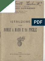 Istruzione 1917 Esercito Italiano