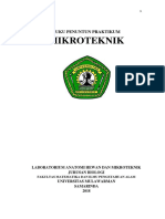 Buku Penuntun Mikroteknik