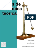 Notas de Mecánica Teórica - Luis J. Garay