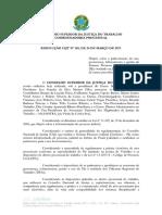 RESOLUÇÃO CSJT 185 DE 2017 - PADRONIZAÇÃO DO PJe.pdf