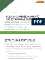 AULA 3 – DIMENSIONAMENTO DAS ESTRUTURAS PORTUÁRIAS.pdf
