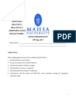 Practical 2 _solid Preparations_single
