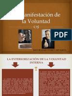 manificestaciondelavoluntad-131226060138-phpapp02