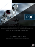 Program of the International Conference Applied Ethics and Artificial Intelligence
