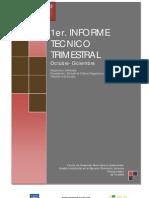 1° Informe Trimestral de Avance