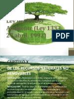 Ley del Medio Ambiente (Ley 1333,-1 GRUPO 1.pptx