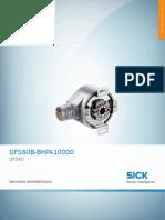 DataSheet DFS60B-BHPA10000 1036771 Es
