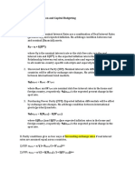 Equations_Summary_International Valuation and Capital Budgeting