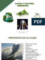 1 La Ecologia en Un Contexto Actual