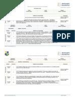 Planificación Anual Matemática 1 Medio