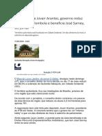 Governo Reduz Território Quilombola