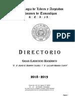 Directorio Digital 18-19