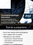psychopharmacologie depression