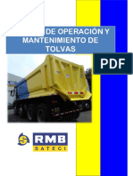 Manual de Operación de Tolvas RMB SATECI - 2016