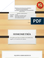 Sismología Exposición